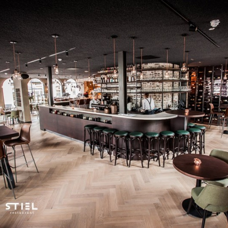 Restaurant-Stiel